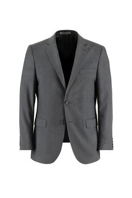 Erkek Giyim - ORTA GRİ 54 Beden Klasik Kuşgözü Takım Elbise