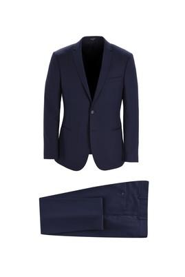 Erkek Giyim - KOYU LACİVERT 44 Beden Klasik Takım Elbise