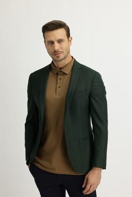 Erkek Giyim - KOYU YEŞİL 50 Beden Spor Ceket