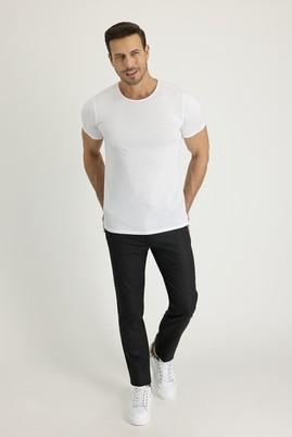 Erkek Giyim - KOYU ANTRASİT 48 Beden Slim Fit Spor Pantolon