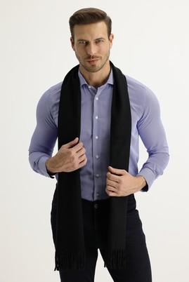 Erkek Giyim - SİYAH  Beden Düz Atkı