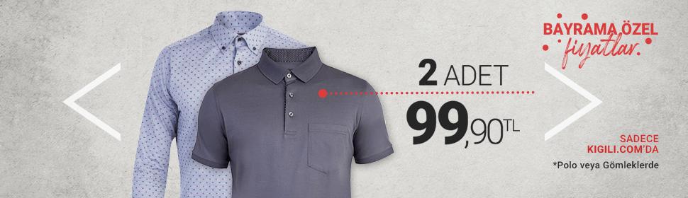 Gömlek + Polo Tişört 99,90 TL