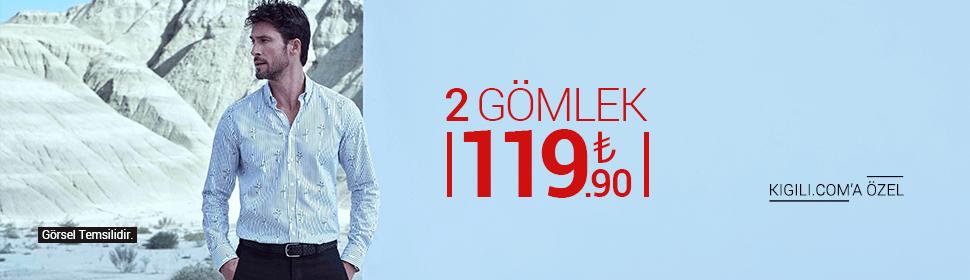 2 Gömlek 119.90 TL