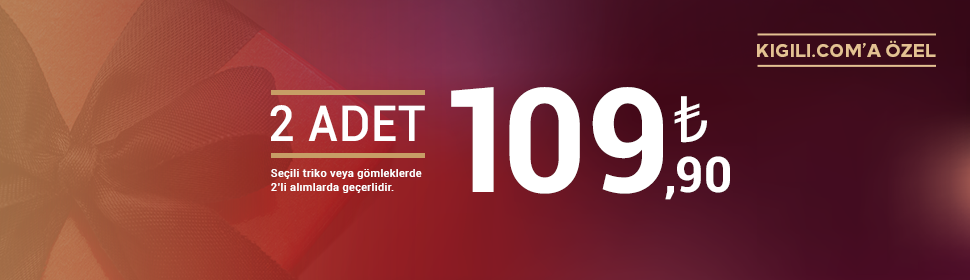 Triko + Gömlek 109.90 TL