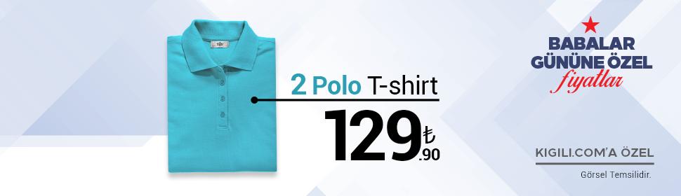 2 Polo Tişört 129,90 TL