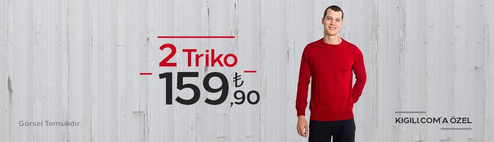 2 Triko 159,90 TL