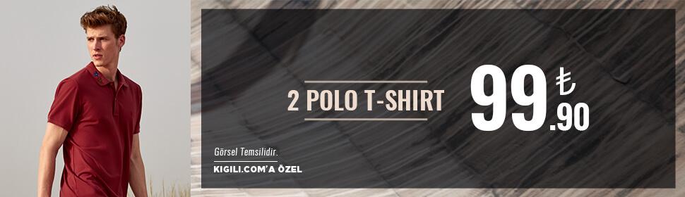 2 Polo Tişört 99,90 TL