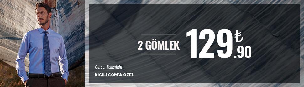 2 Gömlek 129.90 TL