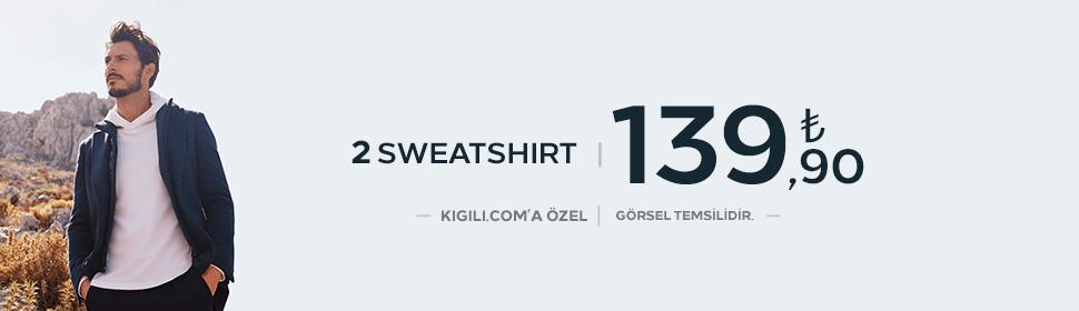 2 Sweatshirt 139,90 TL