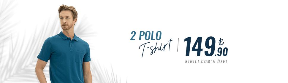 2 Polo Tişört 149,90 TL