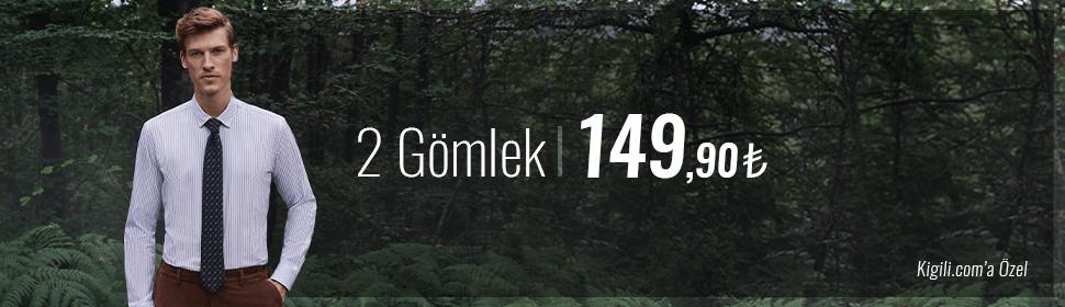 2 Gömlek 149.90 TL