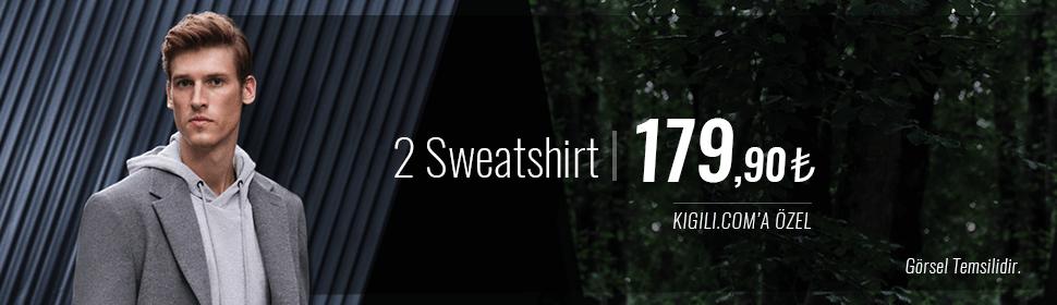 2 Sweatshirt 179,90 TL